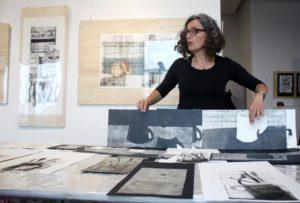 Grabado Verde- Incisione con l'artista cilena Angelica Mirauda- Seminario 16-17 Febbraio