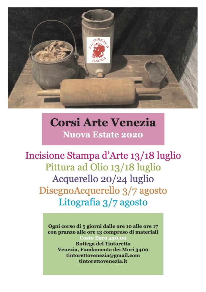 Corsi Estate 2020 – Summer Courses 2020