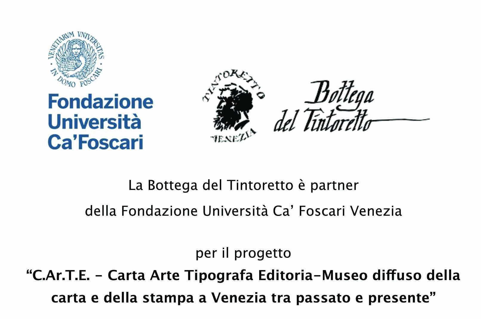 La bottega del Tintoretto partner di Fondazione Università Ca' Foscari
